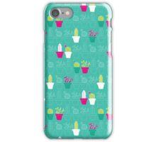 Mini Cactus Love iPhone Case/Skin