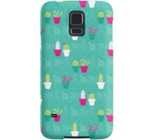 Mini Cactus Love Samsung Galaxy Case/Skin