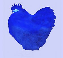 Beautiful Blue Cockerel by jripleyfagence