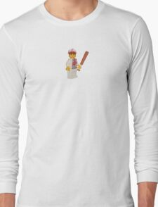 LEGO Baseball Player Long Sleeve T-Shirt