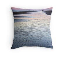 Tide Going Out... Throw Pillow