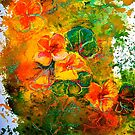 Design...Nasturtium by  Janis Zroback