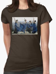 Sequential Dancer Womens Fitted T-Shirt