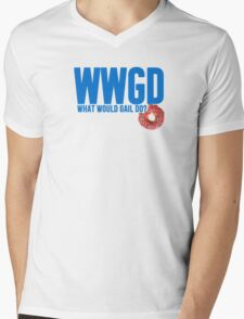 What Would Gail Do Mens V-Neck T-Shirt