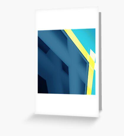 Blueee Greeting Card
