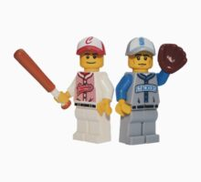 LEGO Baseball Players Baby Tee