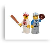 LEGO Baseball Players Canvas Print