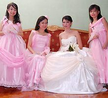 bride's maid, wedding and flower girl gown design 4 by walterericsy