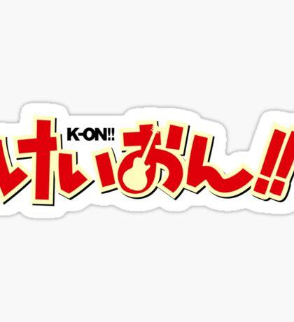 K-ON!! Sticker