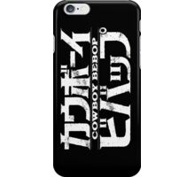 Cowboy Bebop logo iPhone Case/Skin
