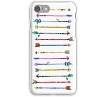 Watercolour Arrows iPhone Case/Skin
