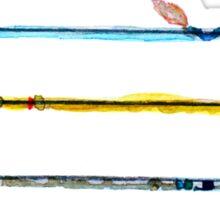 Watercolour Arrows Sticker