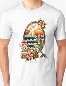 En el Mar la Vida es Mas Sabrosa T-Shirt