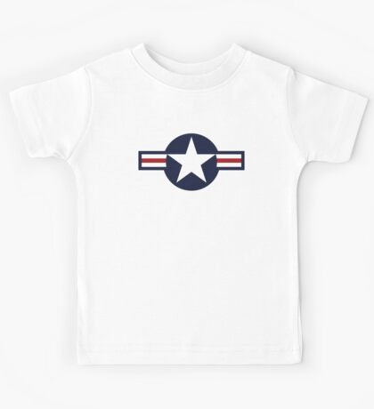 USA Air Force Logo Kids Tee