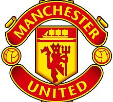 Manchester United Crest by johnprints