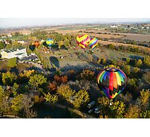 Balloons over Galena IL Photographic Print