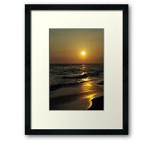 Golden Dreams Framed Print