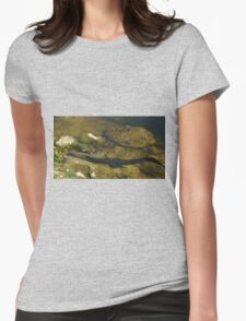 Gator n FLower Womens Fitted T-Shirt