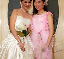 bride's maid and bride gown design 10 by walterericsy