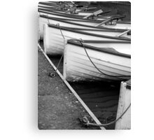 Row of Boats - Versailles Canvas Print