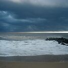 Storm Over Manasquan by Valarie Napawanetz