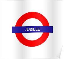 Jubilee Metro Station Poster