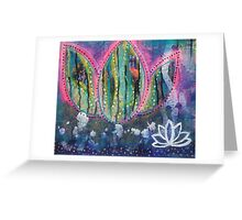Transformation Into Becoming: Inner Power Painting Greeting Card