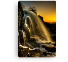 Sunset Spray Canvas Print