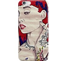 red head iPhone Case/Skin