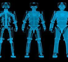 X-ray Cybermen by chupalupa