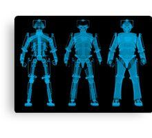 X-ray Cybermen Canvas Print