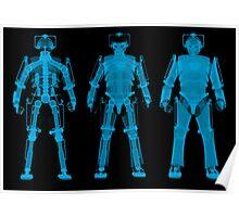 X-ray Cybermen Poster