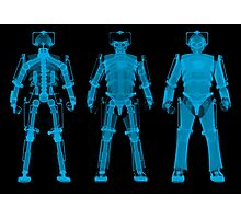 X-ray Cybermen Photographic Print