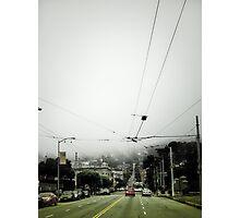 foggy San Francisco Photographic Print