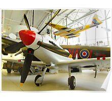 Spitfire F24 - Duxford Poster