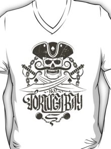 Pirate logo with skull T-Shirt