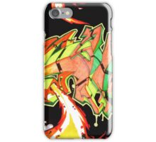 Abstract Graffiti Art iPhone Case/Skin