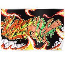 Abstract Graffiti Art Poster