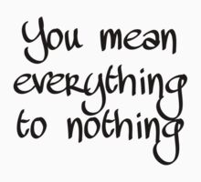 Manchester Orchestra - Everything to Nothing by Katesortino