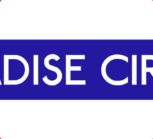 Paradise Circus Metro Station Sticker