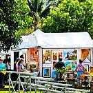 The Art Fair by Roland Pozo