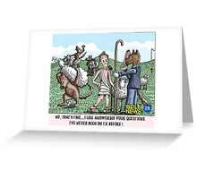 INTERVIEW Greeting Card