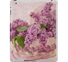 Lilacs In The Box iPad Case/Skin