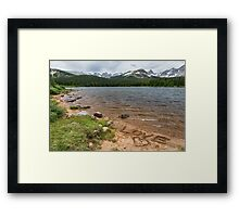 Love the Colorado Rocky Mountains Framed Print