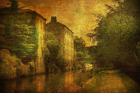 Hebden Bridge  by Irene  Burdell