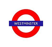 Westminster Metro Station London Underground Photographic Print