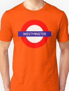 Westminster Metro Station London Underground T-Shirt