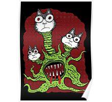 Kitty Monster Poster