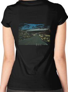 Death Valley California Women's Fitted Scoop T-Shirt