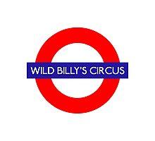 Wild Billys Circus Metro Underground Station Photographic Print